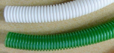 Flame Retardant Corrugated Pvc Tubing Electric Cable Protection